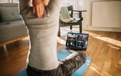 Online cvičení každé pondělí od 17.30| Začínáme 11.1.
